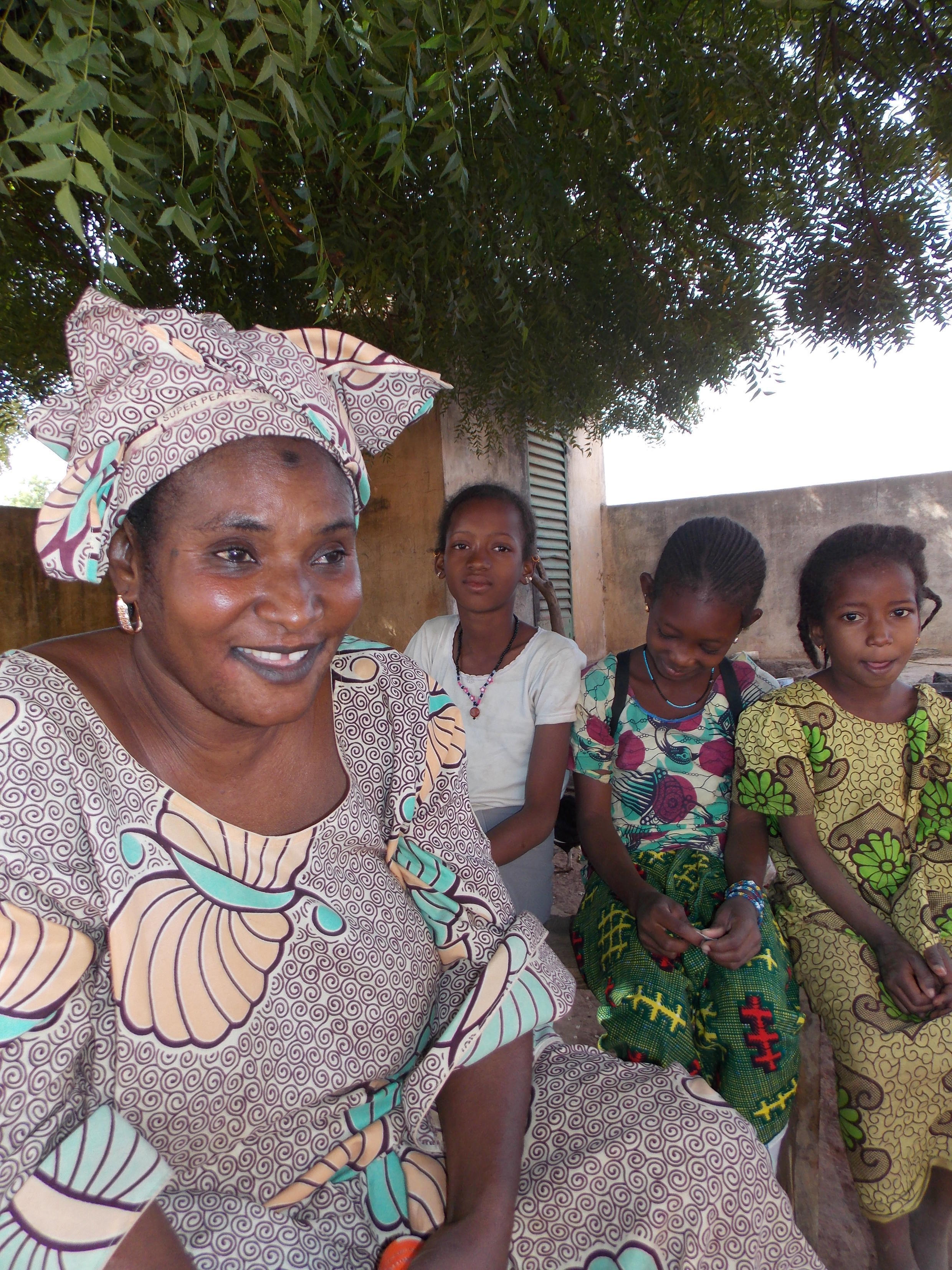 Former FGM practitionery Khaidy Saidy from Guinea Bissau
