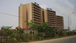 L'hôtel Laico de Ouagadougou, siège de la médiation de la Cédéao depuis deux jours.