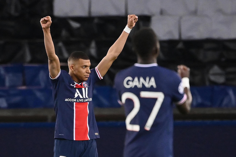 Kylian Mbappé - PSG - Gana Gueye - Paris Saint-Germain - Desporto - Futebol - Liga dos Campeões - UEFA - Football