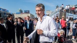 Evgueni Roïzman est une personnalité politique atypique en Russie. Ici en août 2017.