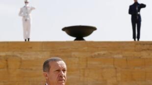 Le Premier ministre turc Tayyip Erdogan, le 1er août à Ankara.