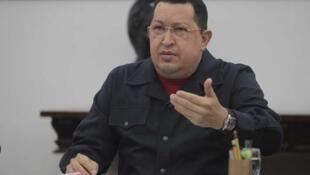 Shugaban kasar Venuzuela Hugo Chávez,