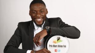 Le joueur camerounais Karl Toko Ekambi a reçu le Prix Marc Vivien Foé 2018 récompensant le meilleur joueur africain de Ligue 1.