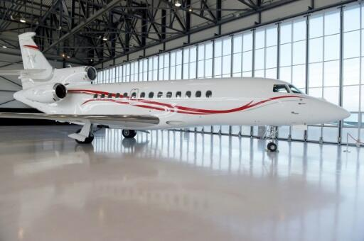 US televangelist Jesse Duplantis is appealing for donations to purchase a Dassault Falcon 7X jet like this one shown at Le Bourget airport