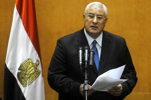 عدلی منصور، رئیس جمهور موقت مصر-تصویر آرشیوی
