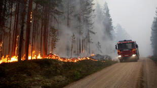 Na Suécia, os incêndios não dão tréguas