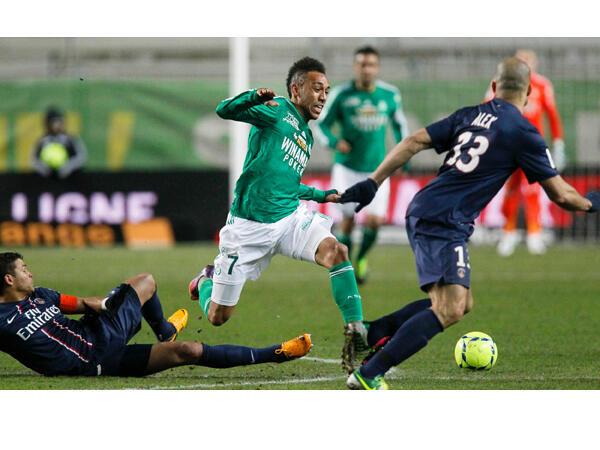 Saint-Etienne, tana barje gumi da  PSG a gasar cin kofin Faransa