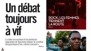 Capa do jornal francês Libération