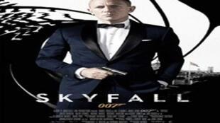 Affiche de «Skyfall».