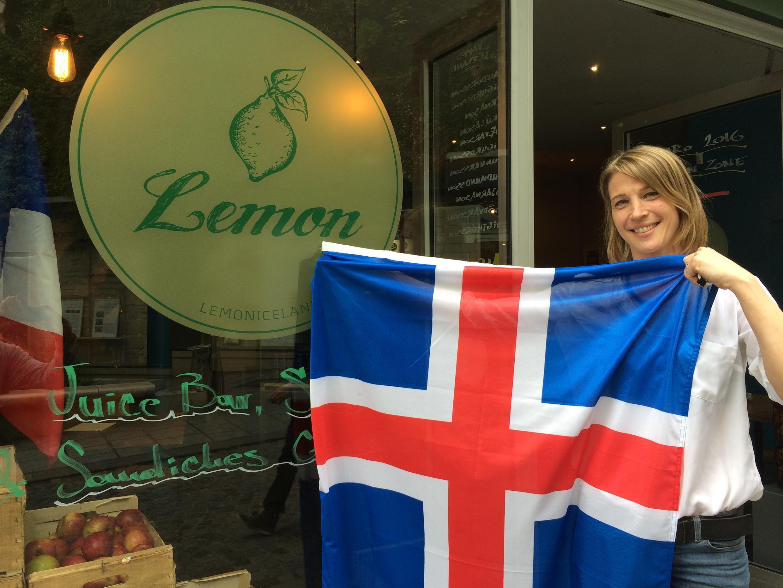 Eva Gunnarsdóttir, propriétaire du restaurant Lemon à Paris