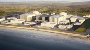 圖為英國欣克利角C核電站圖片
