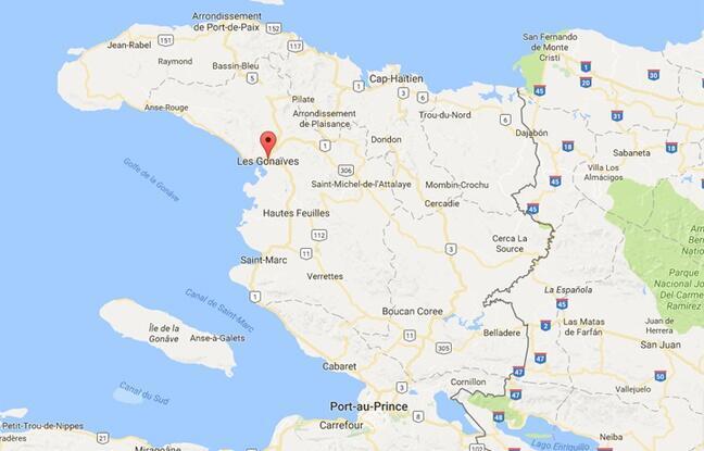 海地卫星地图