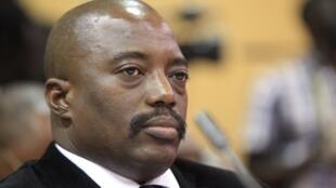 The Democratic Republic of Congo's President Joseph Kabila