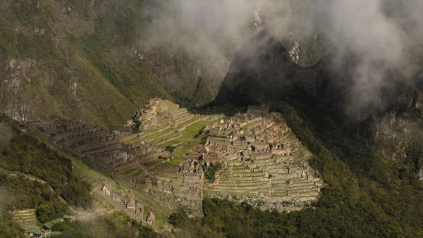 La citadelle du Machu Picchu au Pérou.