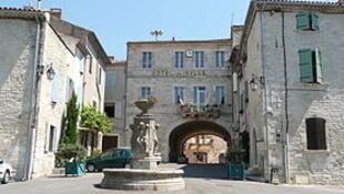 Chloé rRodriguez's home town, Barjac
