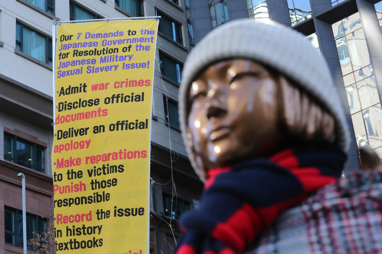 Corée du Sud - esclaves sexuelles - statue