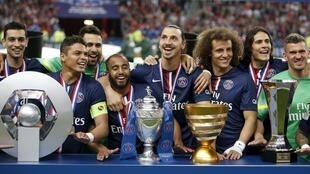 O Paris Saint-Germain conquistou as quatro provas francesas na temporada 2014/2015.