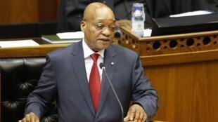 Shugaban kasar Africa ta Kudu, Jacob Zuma.