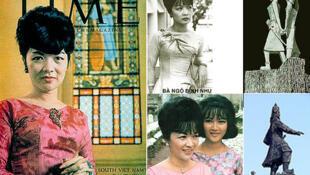 Bà Ngô Đình Nhu trên trang bìa tạp chí Time (DR)