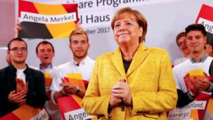 waziriyar jamus  Angela Merkel