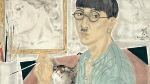 Foujita, Autoportrait, 1929, huile sur toile, 61x50.2 cm, The National Museum of Modern Art, Tokyo.