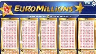 EuroMillions grid