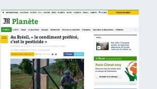 Reportagem do jornal Le Monde edição de 30/10/2015.