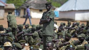 Dakarun sojin gwamnati a birnin Juba na Sudan ta Kudu