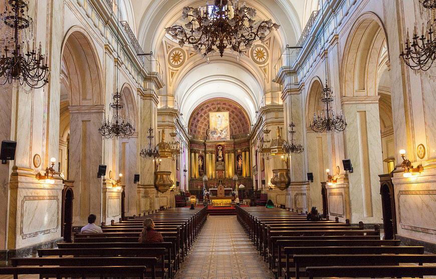 Catedral de Montevideo, no Uruguai.