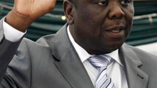 Morgan Tsvangirai is sworn as prime minister on 11 February 2009