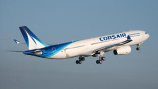 La compagnie française Corsair a inauguré une ligne Paris-Abidjan.