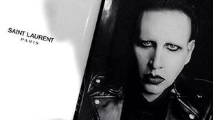 The fashion photo of Marilyn Manson just released on Twitter