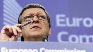 លោក Jose Manuel Barroso ប្រធានគណៈកម្មការអឺរ៉ុប