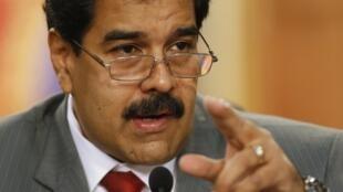 El presidente venezolano Nicolás Maduro, el pasado 14 de marzo en Caracas.
