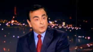 雷诺总裁卡洛斯-戈恩(Carlos Ghosn) 1月23日接受法国电视一台采访谈泄密案
