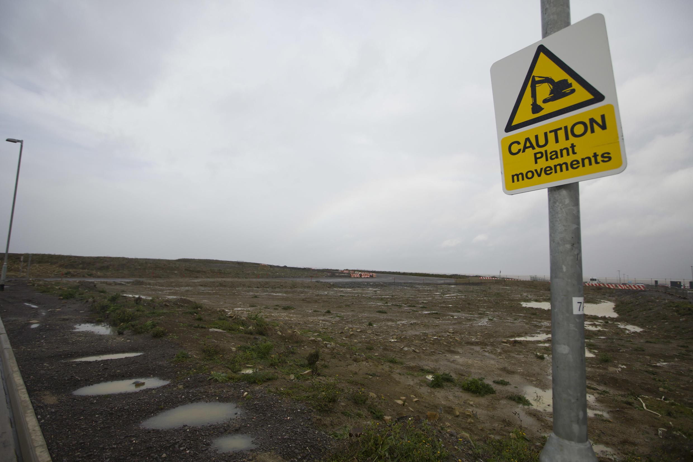 Le site d'Hinkley Point où devrait être construit le nouvel EPR.