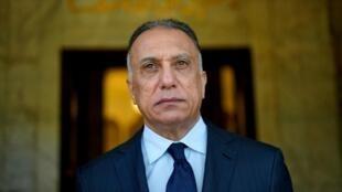 2020年5月7日宣誓就职的伊拉克新总理卡迪米。