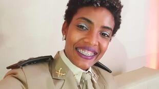 A capitã Thaís Ramos Trindade, da PM-BA, é coordenadora do Núcleo de Matriz Africana da entidade, o Nafro, que é parte de uma ação antirracista na Polícia baiana.