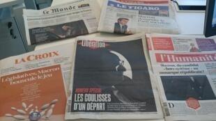 Diários franceses 10.05.2017