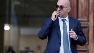 L'homme d'affaires maltais Yorgen Fenech quittant le tribunal de La Valette, le 29 novembre 2019.