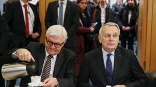 Франк-Вальтер Штайнмайер и Жан-Марк Эро прибыли в Киев. 22 февраля