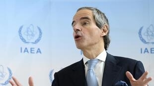 رافائل ماریانو گروسی، مدیر کل آژانس بینالمللی انرژی اتمی.