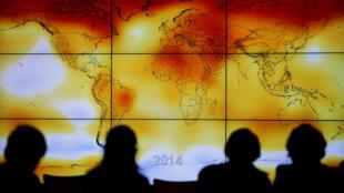 Nhiệt độ Trái đất mỗi năm một tăng. Ảnh minh họa