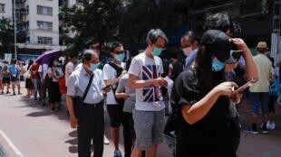 Des milliers de Hong-kongais ont fait la queue ce samedi 11 juillet pour voter à la primaire organisée par le camp pro-démocratie.