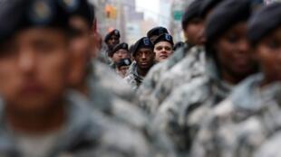Des soldats de l'armée de terre des Etats-Unis.