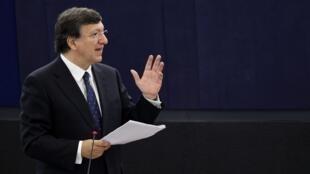 José Manuel Barroso, presidente da Comissão Europeia, chegou nesta quinta-feira a Atenas para reunião com o premiê grego, Antonis Samaras.