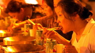 Dégustation de fondue chinoise