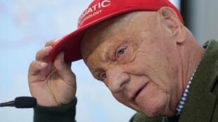 Foto de arquivo de Niki Lauda, em março de 2018.