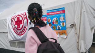 Campagne d'information pour lutter contre la propagation de la peste, dans le district d'Antananarivo, le 5 octobre 2017.