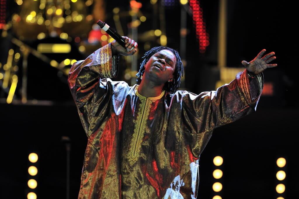 Le Sénégalais Baba Maal.